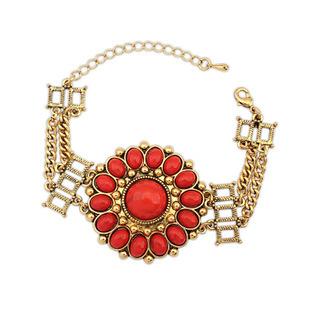 3 Colors Jewelry fashion lots Style Luxurious Palace Rhinestone Charm Bracelet Party Women Drop Shipping Free Shipping(China (Mainland))