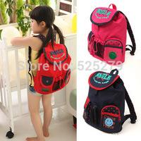 Retail-children school bags,kids backpacks ,baby lovely cute dot mochila infantil 3 color