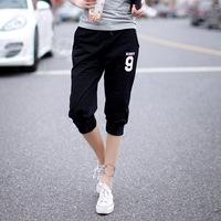 2014 New fashion summer 100% cotton Loose Seven women sport pants plus size Thin harem pants trousers sweatpants