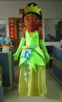 High quality frog princess mascot costumes Adult Size frog princess mascot costumes EMS free shipping