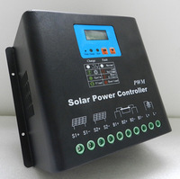 High Voltage 220V 60A Solar Charge Controller,Connect 13200w Solar,PWM Charging,LCD Display,2 Fans,Good Heat Dissipation,CE