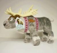 10pcs 2014 new hotsale FROZEN Sven Reindeer Large Stuffed Animal Plush Doll Grey Moose NEW
