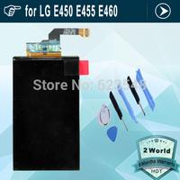 Original lcd screen display for LG Optimus L5 II Dual E450 E455 E460 glass replacement digitizer  + tools