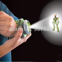 Cartoon BANDAI BEN 10 Kids Children Projector Watch Alien Force OMNITRIX Ben 10 Projector 6pcs/lot