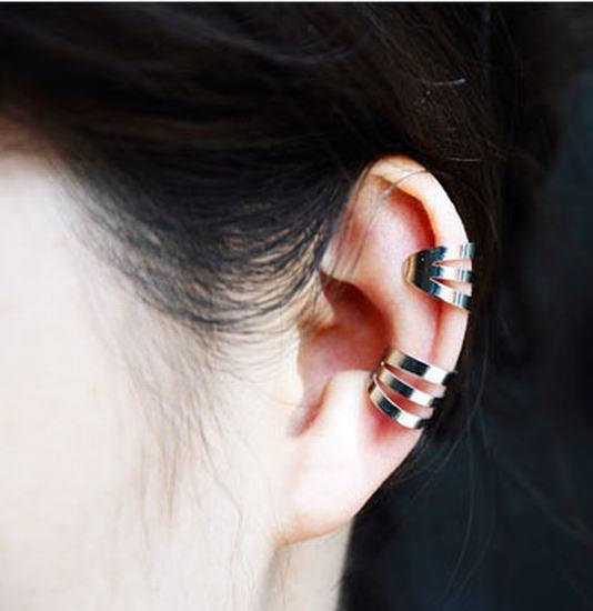 -Hole-3-Layer-Lady-Golden-Silver-GunBlack-Ear-Bone-Clip-EarClip.jpg