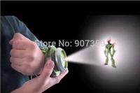 Cartoon BANDAI BEN 10 Kids Children Projector Watch Alien Force OMNITRIX Ben 10 Projector 48pcs/lot