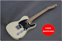 Free shipping  New arrival cream color  Electric Guitar    t54