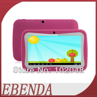 Kids Tablet PC 7 inch Dual Core Android 4.4 Capacitive Screen tablet pc 512M 4GB Cheapest