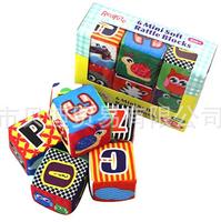7 cm cloth rattles digital building blocks bricks educational toys baby alphanumeric recognized early childhood