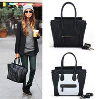 Fashion smiley bag Large bag bag one shoulder women's handbag