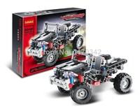 Original Box Technic Transport Vanguard Car Decool 3342 Building Block Sets Model DIY Bricks Toys For Children