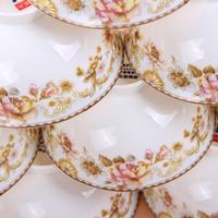 58 quality bone china glaze dinnerware set fashion royal