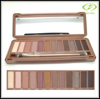 Hot NAKE Makeup set 12 Colors Palette NK 1 2 3 Eyeshadow Palettes with brush 3 pcs/lot Free Shipping