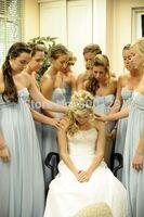 Fashion Sweetheart Pleated Flower Custom Made Wedding Party Dress Sleeveless Empire Chiffon Formal Long Bridesmaid Dresses 2014