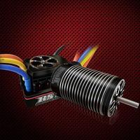 ROCKET 1/8 Car 4076 Motor + 150A ECS + LED