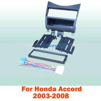 1 Din Car Fascia / Car Frame kit / Audio Panel Frame / Car Dash Kit For Honda Accord 2003 2004 2005 2006 2007 2008 Free Shipping