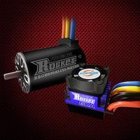 ROCKET 1 / 10 Car 550 MOTOR + 60A ESC + LED 3.175mm Shaft