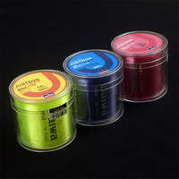 Super Strong 500M 22LB 0.20mm Dyneema Fishing Lines Fishing String Braided 4 Strands Wire, 4 Colors Free & Drop Shipping
