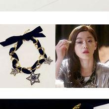 Korean TV My Love From the Star Jun Ji hyun statement collar Star necklace Wholesale 12pcs/lot  D8R5