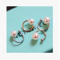 Sweet delicate pearl clip no pierced earrings in ear price of cabbage