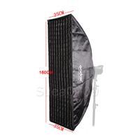 Pro Photo Studio Flash Strobe Softbox 35x160CM With Honeycomb Grid Bowens Mount