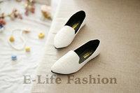 New 2014 Spring Hot Sale Women's Shoes Single Shoes Korean Soft Flat Shoes Comfortable Single Shoes Big Size 35-39 667-16