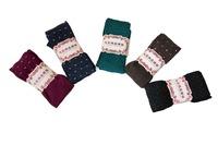2014 New Arrival Young Girl Pack Feet-Ankle Fitness Elastic Mid-Waist Small Flower Design Legging