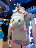 Retail!Despicable Me Unicorn Backpack Despicable Me Unicorn Bag Plush Unicorns Toy Backpack Toys For Girls Kids