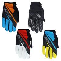 NO.270501 Children Cycle  Glove Fashion Kids Boys Gloves Cycling Full Finger Fashion Anti-shock Mountain Bike Gloves S-XL Black