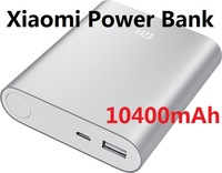 DHL Free shipping 50Pcs/Lot Real Original 10400mAh xiaomi Power bank with Real capacity XIAOMI power bank for mobile phones
