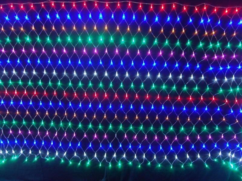 free shipping144 LED Net Light/outdoor led globe light/1.5*1.5m 144 bulbs(China (Mainland))