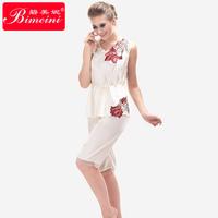Free shipping/Drop shipping  plus size high quality hot sale Women's  elegance silky satin  pajama /sleepwear/nightgown 14029