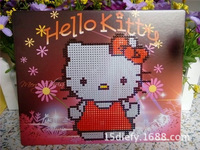 New Arrival Hello kitty Diamond Painting DIY Round Diamond Cross Stitch Needlework Rhinestone Pasted Home Decorated