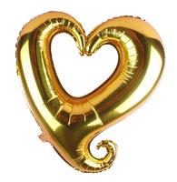 Free ship 15pcs/lot foil balloon  18-inch heart-shaped balloon wedding  birthday party  Helium foil heart balloon