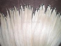 15 hanks white stallion white bow hair 32 inch & 6g/hank