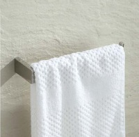 Free Shipping! Stainless Stell Bathroom Towel Rack Holder Single Lever Towel Hanger Wall Mount