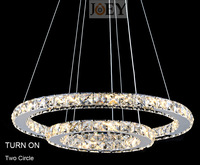 New Arrivals Crystal chandeliers Candle light Dinning room light fixtures modern lamps home Art Deco lights JD9057/50+70
