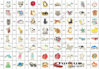 Free Shipping 12 colors Silver Girl Charms (10 of each) for Floating Charms Lockets