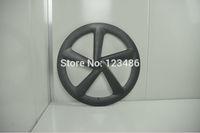 wholesale oem color carbon road bike 5 spoke wheels track front /rear wheels