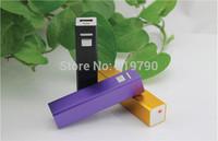 Mini Portable 2600 mAh square columns Power Bank for mobile phones/ipod smartphone with usb cable retail box free ship 30pcs