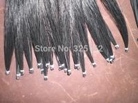25 hanks Black Violin Bow hair in 32 inches, 7 grams each hank