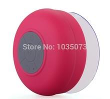 Portable Waterproof Wireless Bluetooth Speaker Shower Car Handsfree Receive Call Music Suction Phone Mic Free Shipping(China (Mainland))