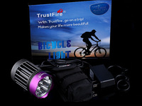 Trustfire D014 7xCree XM-L2 3200Lumens rechargeable led bicycle light