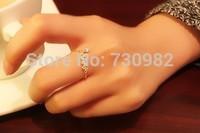 pure 14k yellow gold ring  adjustable small  grape   birthday romantic gift beautiful wearing free shipping