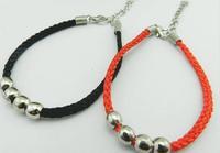 Charm bracelet Golden Silver double ring women chain link bracelets Valentine's day gifts