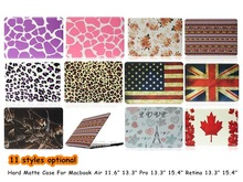 """11 Styles Optional Laptop Protection Shell Hard Matte Cover Case For Apple Macbook Air 11"""" 13"""" Pro 13"""" 15"""" Retina 13"""" 15""""(China (Mainland))"""