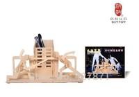 2014 new style dinosaurs 3d wood model kits