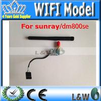 1pcs wifi model for dm800se dm800hd se sr4 of wifi model satellite receiver cable receiver free shipping post