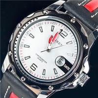 2014 CURREN Brand New Fashion Luxury Watches Military Watch Waterproof Leather Men Sport Quartz Watch, Free Shipping