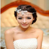 Min order $10 Free shipping 2014 fashion crystal bridal hair accessories wedding jewelery H43